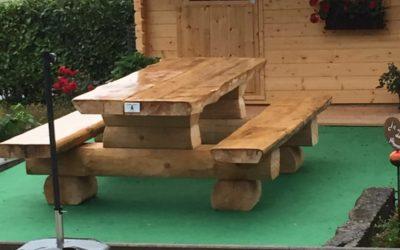 Construction de mobilier de jardin, jeux d'enfants et aménagement extérieur